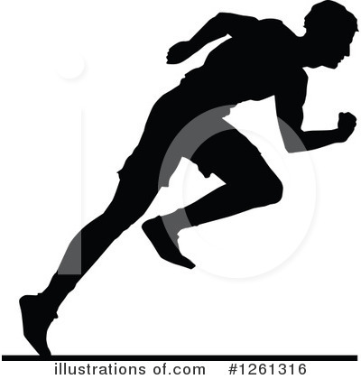 Track And Field Clipart #1261316 by Chromaco