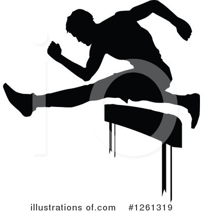 Track And Field Clipart #1261319 by Chromaco