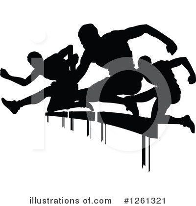 Royalty-Free (RF) Track And Field Clipart Illustration by Chromaco - Stock Sample #1261321
