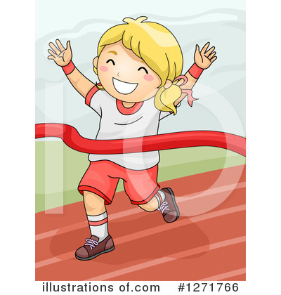 Track And Field Clipart #1271766 by BNP Design Studio