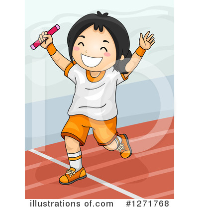 Track And Field Clipart #1271768 by BNP Design Studio