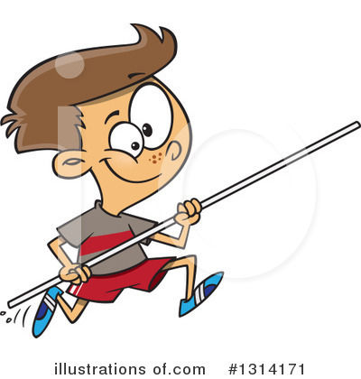 Track And Field Clipart #1314171 by toonaday