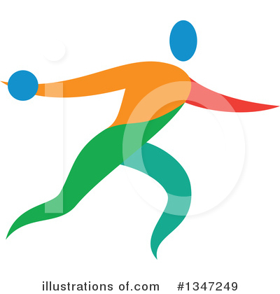 Track And Field Clipart #1347249 by patrimonio