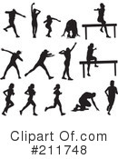 Track And Field Clipart #211748