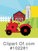 Tractor Clipart #102281 by Hit Toon