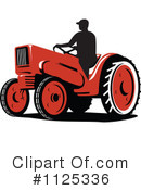 Royalty-Free (RF) tractor Clipart Illustration #1125336