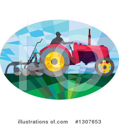 Farmer Clipart #1307653 by patrimonio