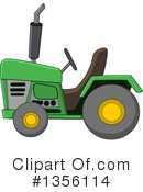 Royalty-Free (RF) Tractor Clipart Illustration #1356114