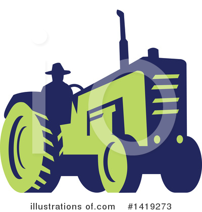 Farmer Clipart #1419273 by patrimonio