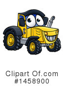 Royalty-Free (RF) Tractor Clipart Illustration #1458900