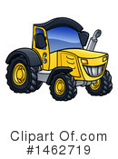 Royalty-Free (RF) Tractor Clipart Illustration #1462719