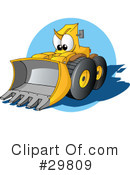 Tractor Clipart #29809