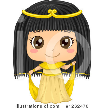 Cleopatra Clipart #1262476 by BNP Design Studio