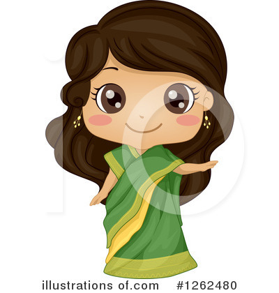 Traditional Dress Clipart #1262480 by BNP Design Studio