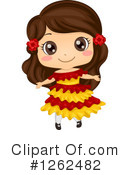 Traditional Dress Clipart #1262482 by BNP Design Studio