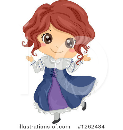 Traditional Dress Clipart #1262484 by BNP Design Studio