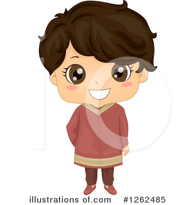 Royalty-Free (RF) Traditional Dress Clipart Illustration by BNP Design Studio - Stock Sample #1262485