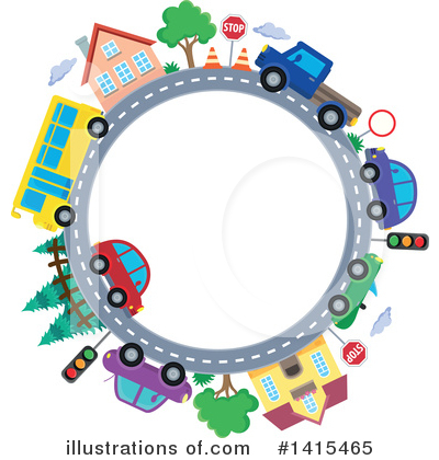 Road Clipart #1415465 by visekart