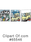 Traffic Clipart #65546 by Dennis Holmes Designs