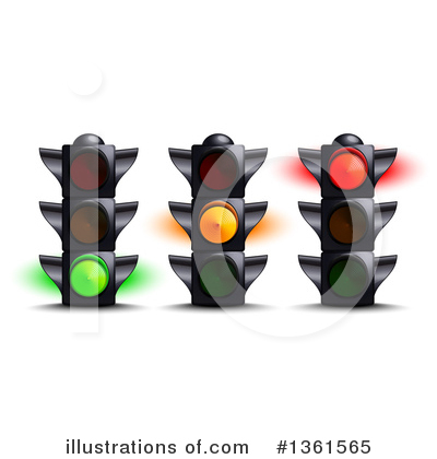 Traffic Light Clipart #1361565 by Oligo