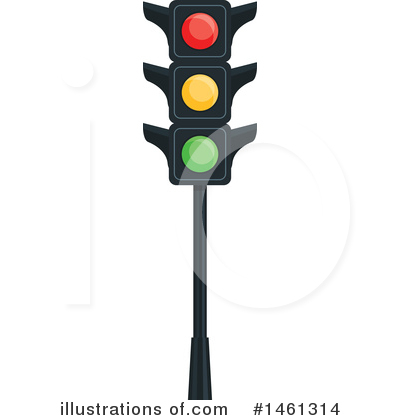 Traffic Light Clipart #1461314 by Vector Tradition SM