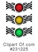 Royalty-Free (RF) Traffic Light Clipart Illustration #231225