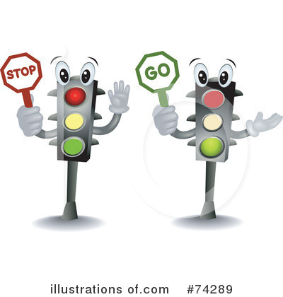 Traffic Light Clipart #74289 by BNP Design Studio