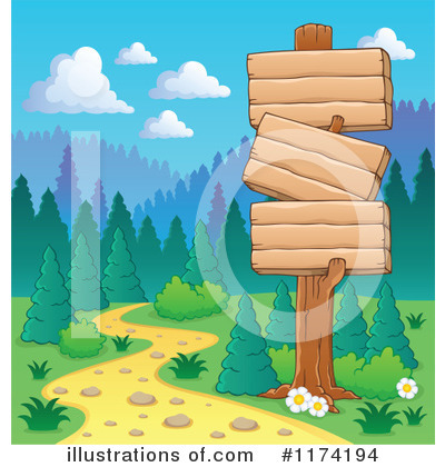 Hiking Clipart #1174194 by visekart
