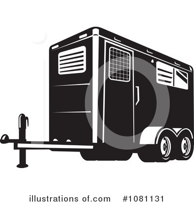 Trailer Clipart #1081131 by patrimonio
