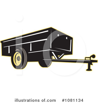 Trailer Clipart #1081134 by patrimonio