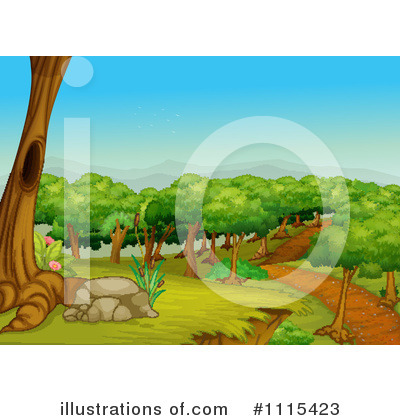 Park Clipart #1115423 by Graphics RF