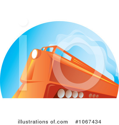 Railroad Clipart #1067434 by patrimonio