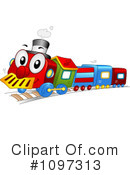 Royalty-Free (RF) Train Clipart Illustration #1097313
