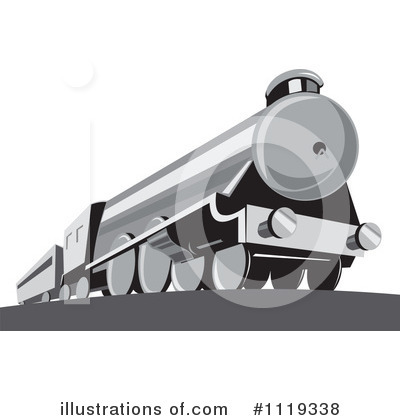 Train Clipart #1119338 by patrimonio