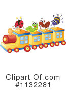 Royalty-Free (RF) Train Clipart Illustration #1132281