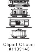 Royalty-Free (RF) train Clipart Illustration #1139143