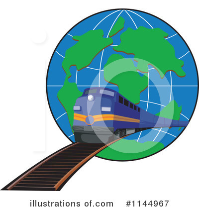 Train Clipart #1144967 by patrimonio