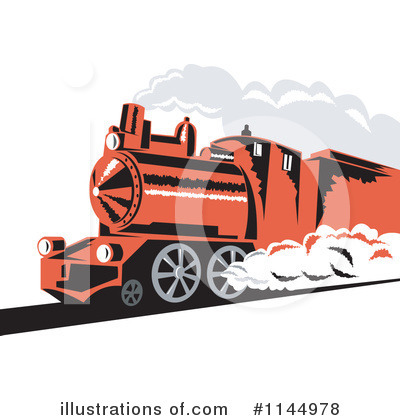 Railroad Clipart #1144978 by patrimonio