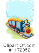 Royalty-Free (RF) Train Clipart Illustration #1172952