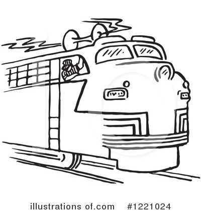 Train Engineer Clipart #1221024 by Picsburg