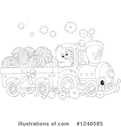 Train Clipart #1240585 by Alex Bannykh