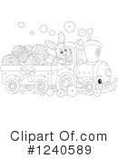 Train Clipart #1240589 by Alex Bannykh