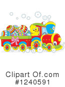 Train Clipart #1240591 by Alex Bannykh