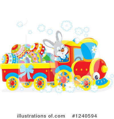 Easter Clipart #1240594 by Alex Bannykh