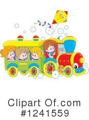 Royalty-Free (RF) Train Clipart Illustration #1241559