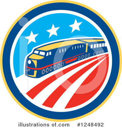 Train Clipart #1248492 by patrimonio