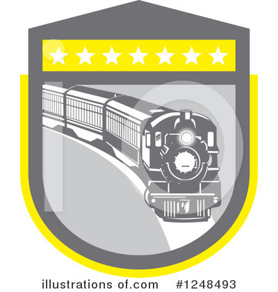 Train Clipart #1248493 by patrimonio