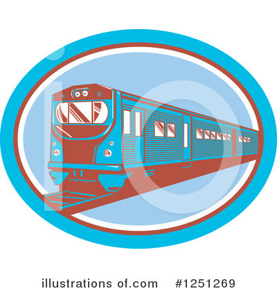 Train Clipart #1251269 by patrimonio