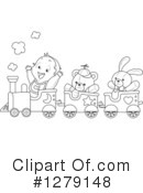 Train Clipart #1279148 by BNP Design Studio
