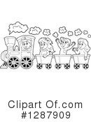 Train Clipart #1287909 by visekart